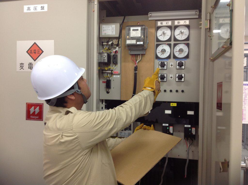 商業施設での設備管理・第三種電気主任技術者業務